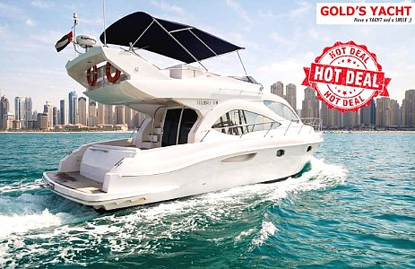 dubai yacht rental prices, cost: 700 AED per hour