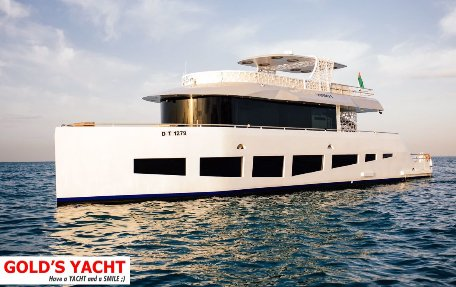 hire yacht for party in dubai, for 40-60 people