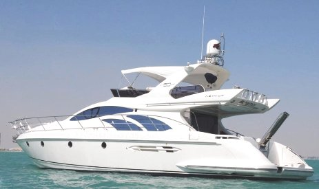 Yacht Azimut 50 ft., rent yacht dubai, for 10-15 people