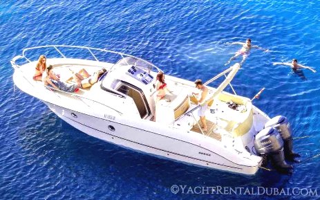 Boat rental Dubai (Boat 30 ft,capacity 9 persons)