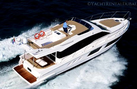 rent yacht 48 ft. dubai, for 10-21 people