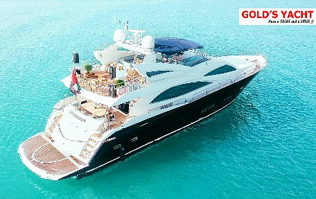Hire a luxury yacht in Dubai. The yacht has capacity for 28 people