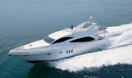 Charter company in Dubai, yacht 77 ft. for 30 people