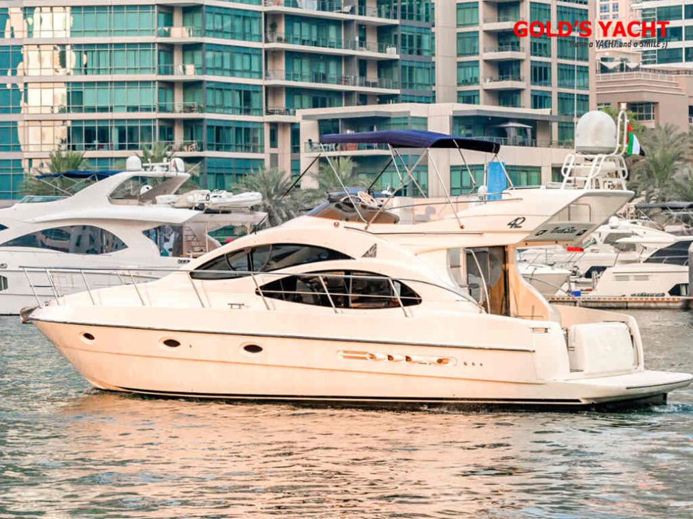 Yacht 42 ft, capacity: for 15 people (fishing in Dubai)
