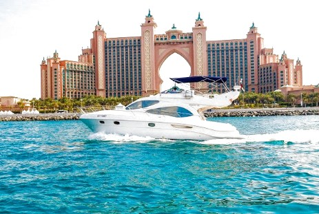 yacht for fishing tour in dubai, price: 650 per hour