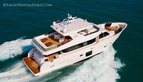 Hire yacht 75 ft. for 20-30 people